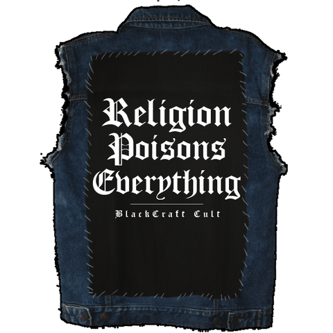 Religion Poisons - Back Patch