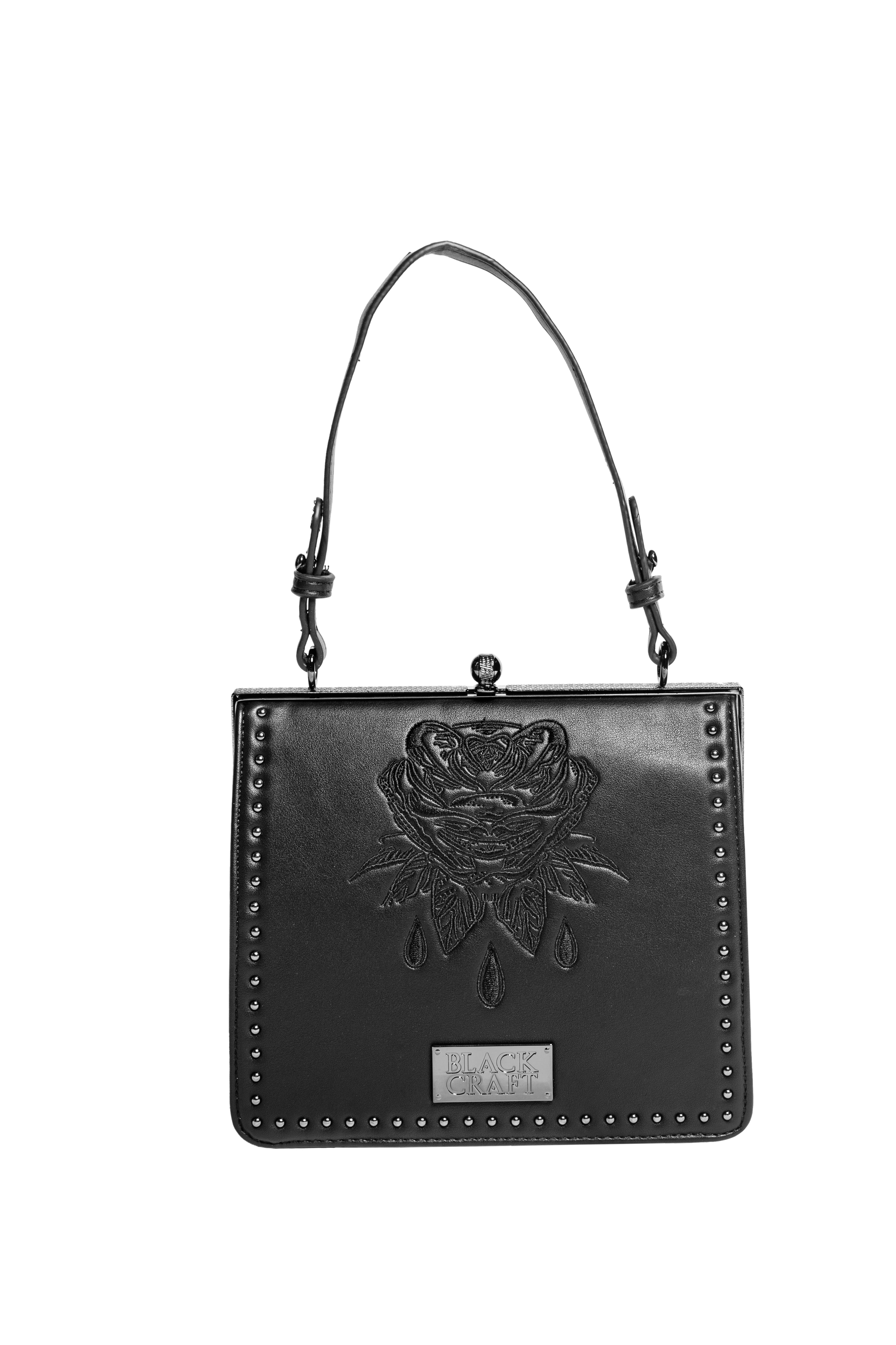 Spirits Of The Dead Embroidered - Frame Satchel