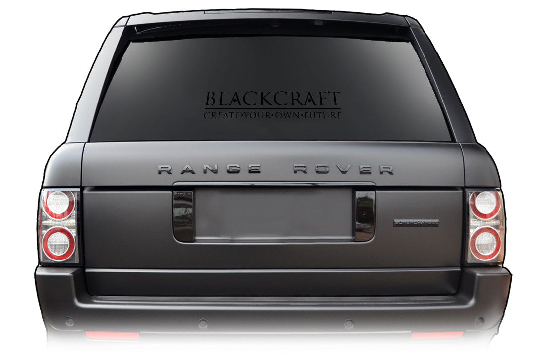 Blackcraft Cult -  Black Decal