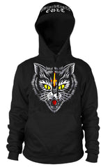 Hell Cat - Hooded Pullover Sweater