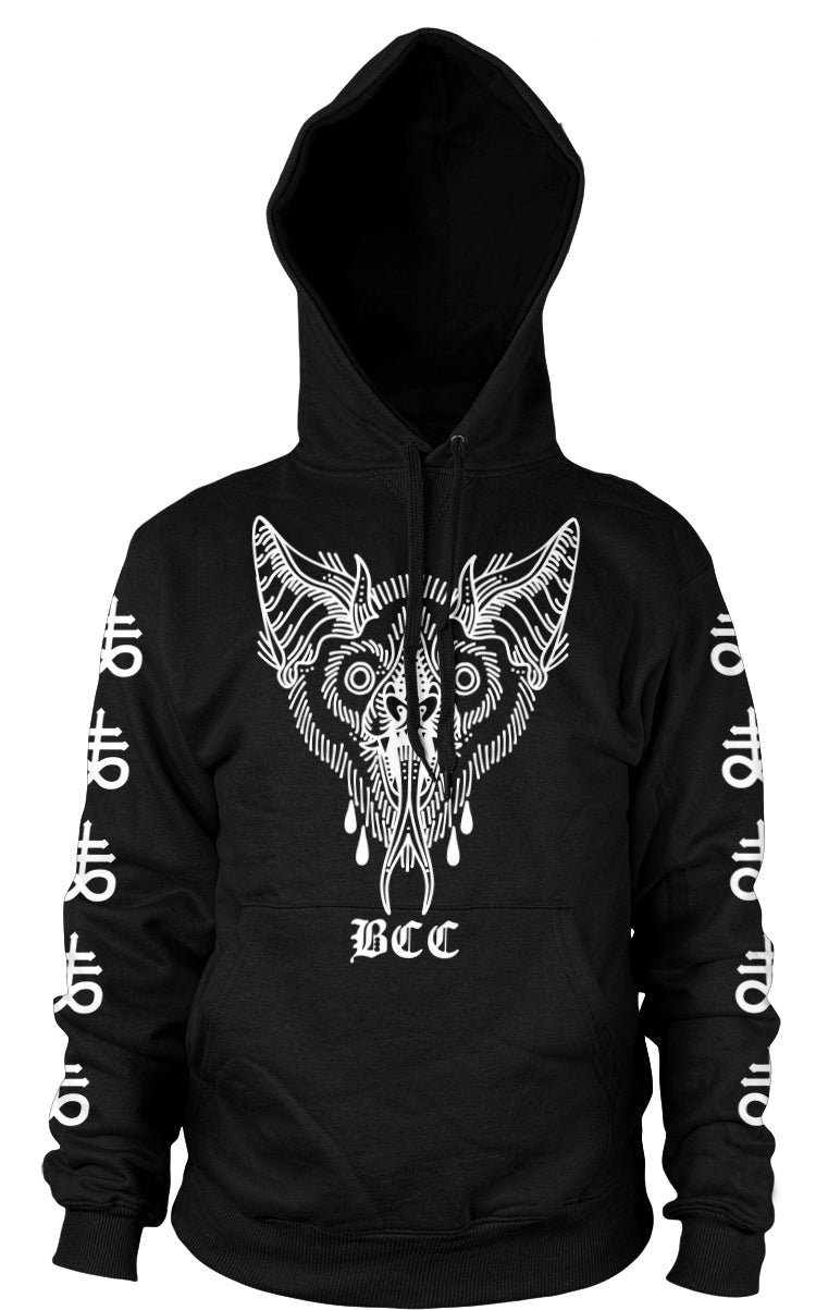 Unholy Bat - Hooded Pullover Sweater