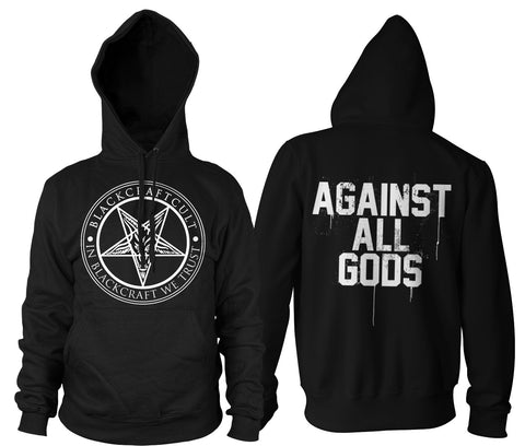 Against All Gods - Hooded Pullover Sweater