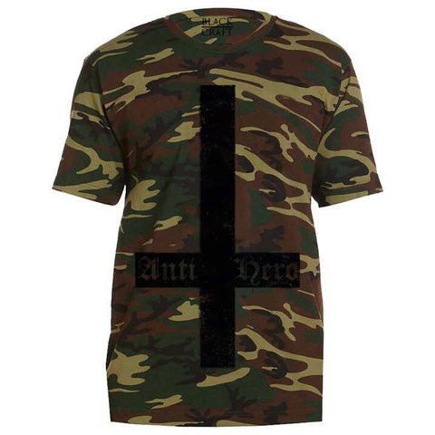 Blxckmass Presents Tommy End - Camo Tee