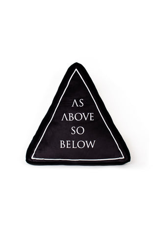 As Above So Below - Decorative Pillow