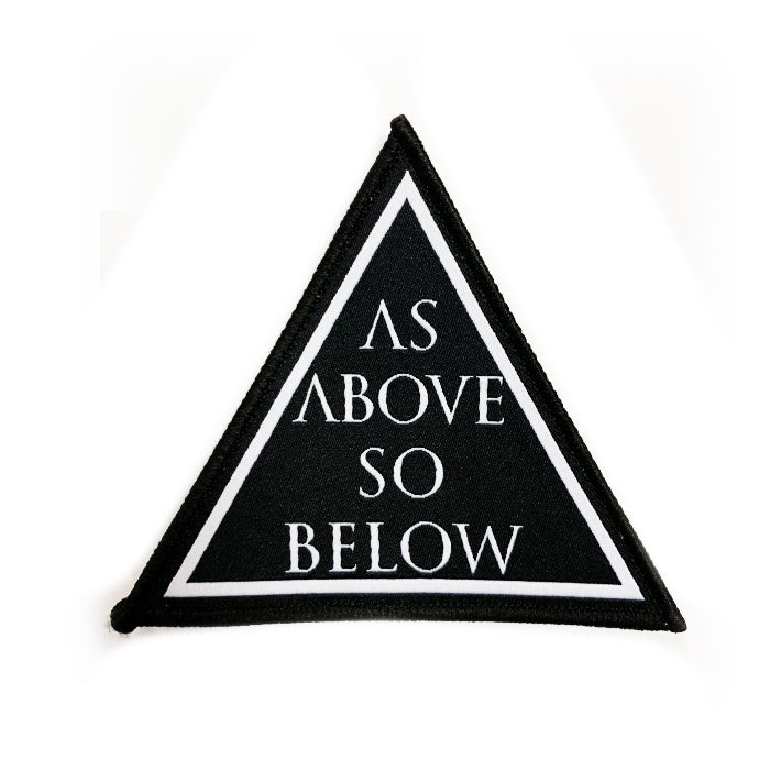 As Above So Below - Woven Patch
