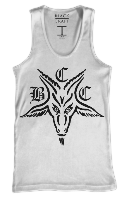 BCC Goat - White Tank Top