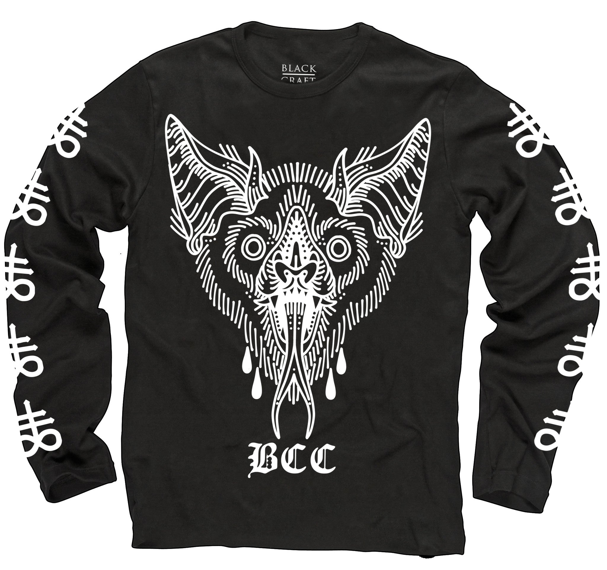 Unholy Bat -Long Sleeve Tee