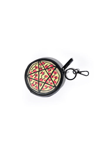 Pizzagram Coin Purse Keychain