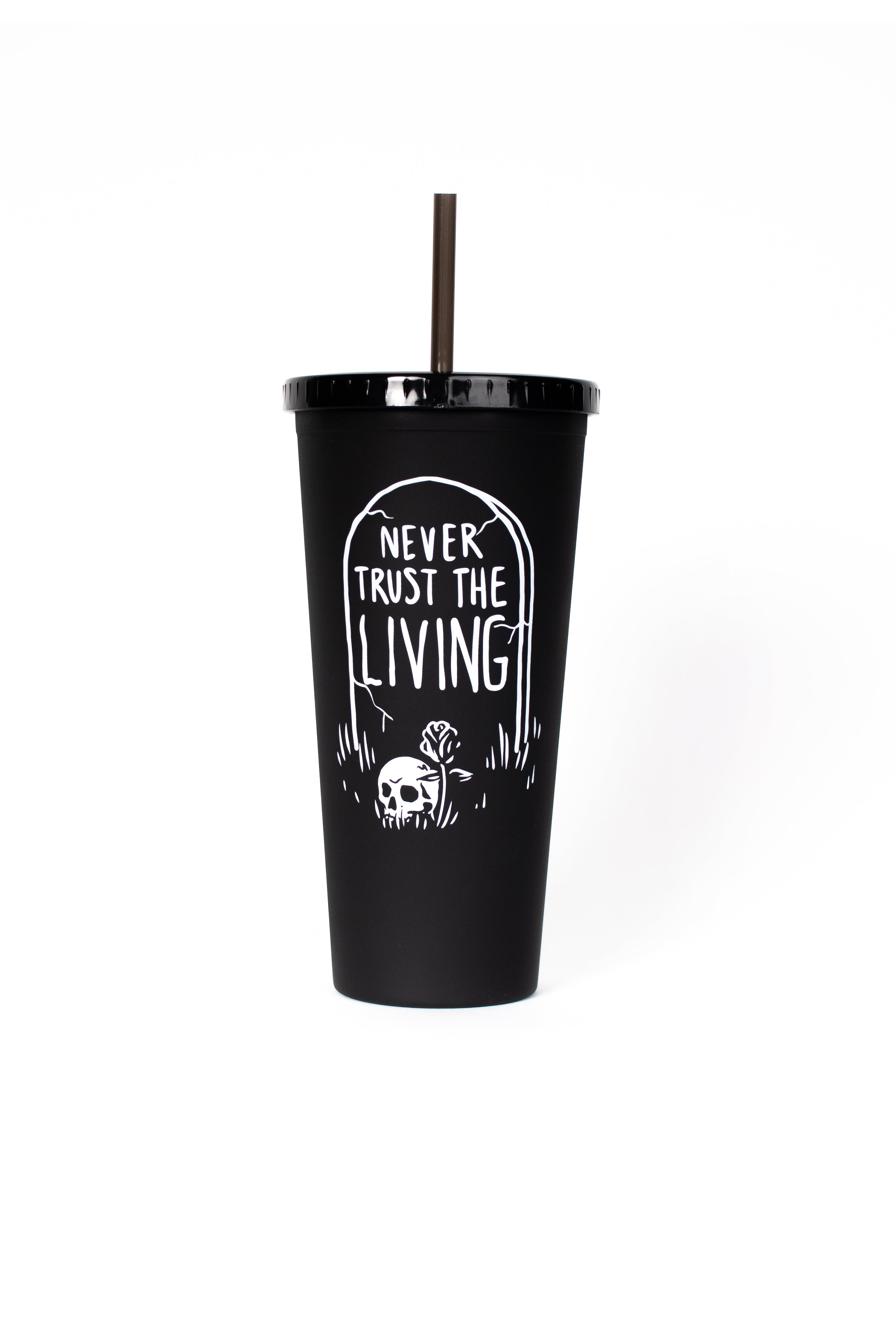 Never Trust The Living - Travel Cup