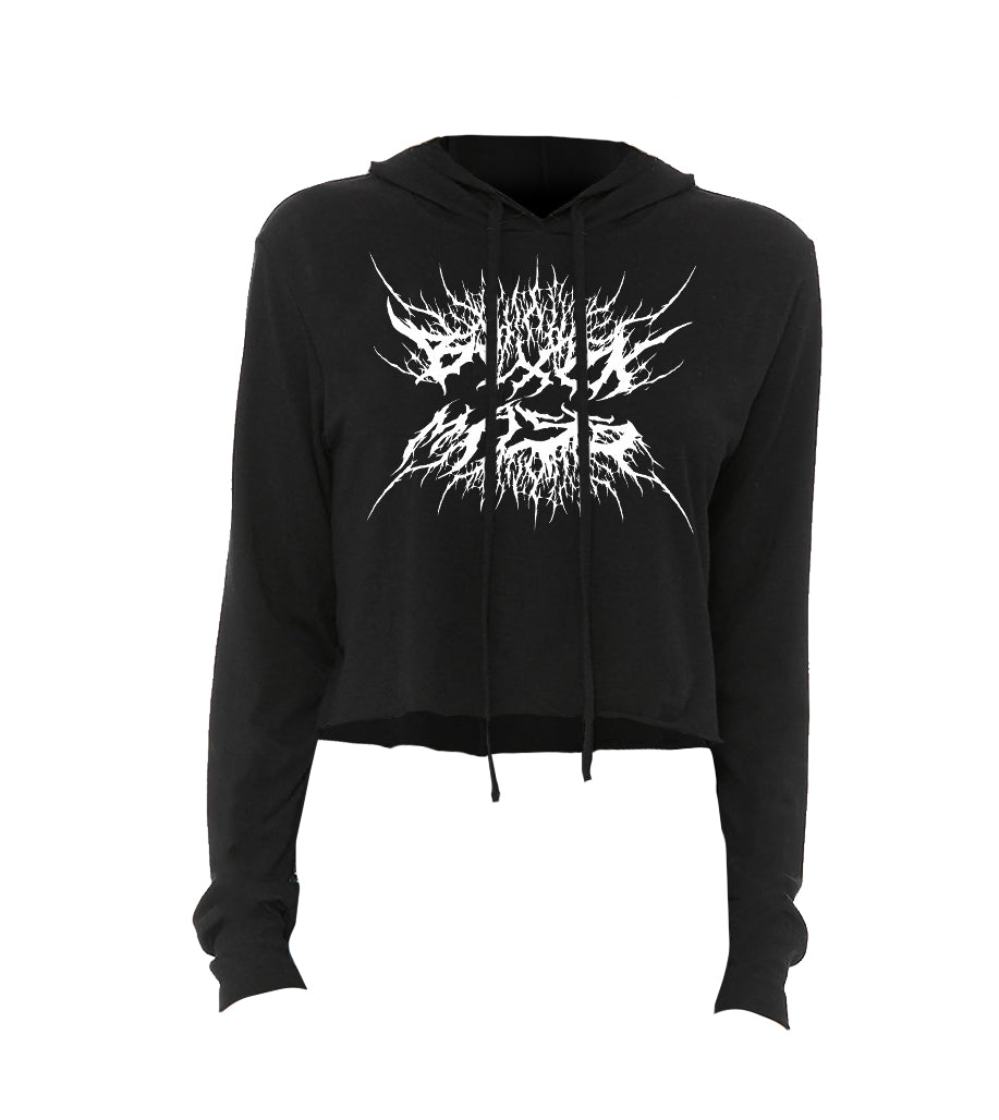 BLXCKMASS - Women's Lightweight Cropped Hoodie