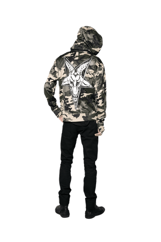 Baphomet Camo - Zip Up