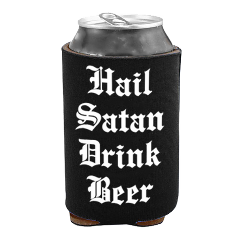 Hail Satan Drink Beer - Drink Cooler