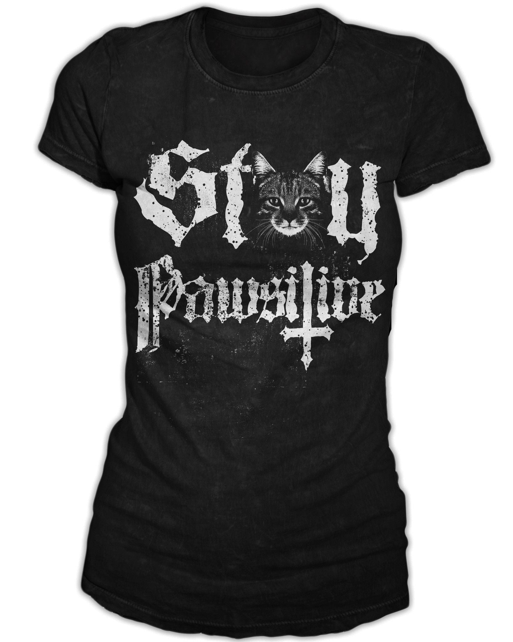 Stay Pawsitive - Women's Tee