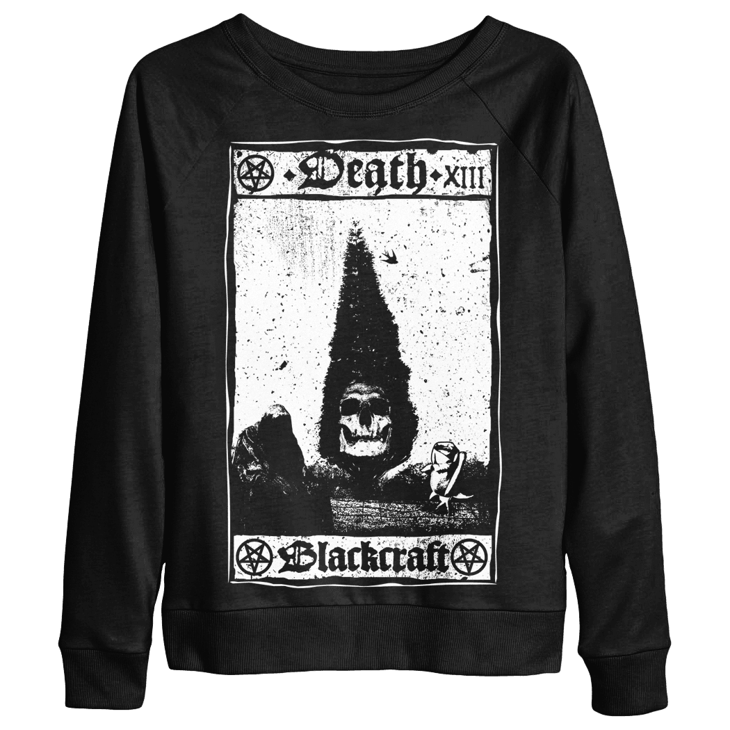 Death Card - Women's Scoop Neck Sweater