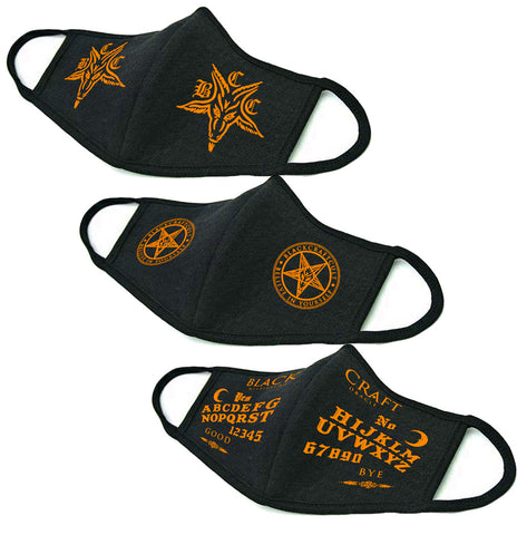 Blackcraft Orange Face Mask Collection