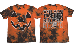 Every Night Is Halloween - Orange Lightning Dye