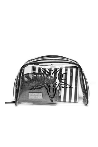 BCC Goat 3 in 1 Makeup Bag Set