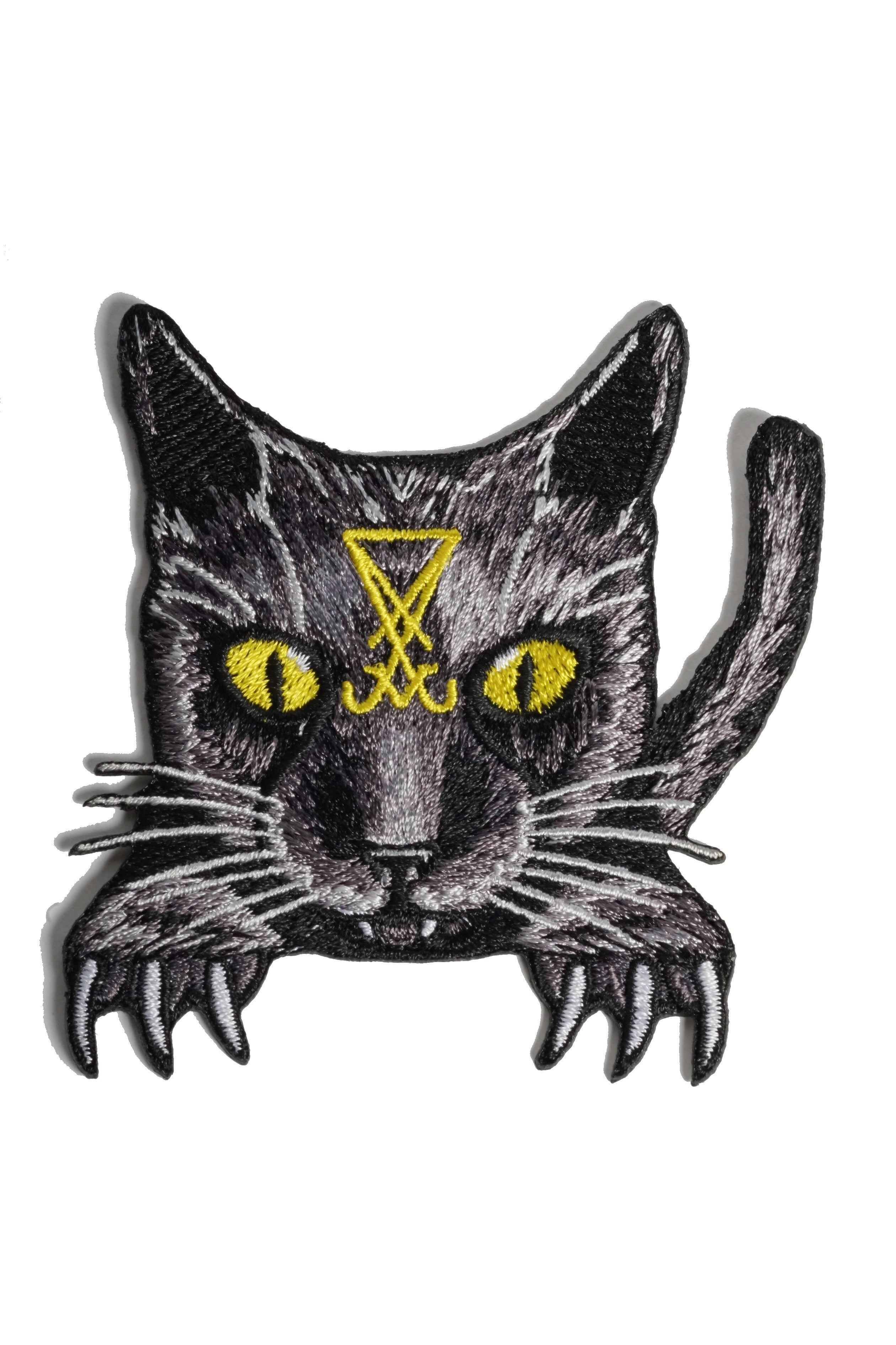 Lucifer The Cat - Embroidered Patch