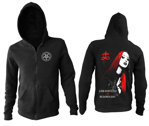 Ash Costello Collab Zip Up