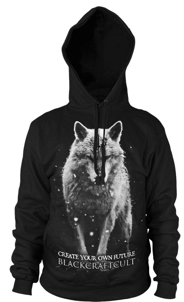 Lone Wolf - Hooded Pullover Sweater