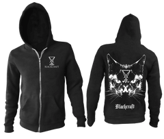 Lucifer The Cat - Zip Up Hoodie