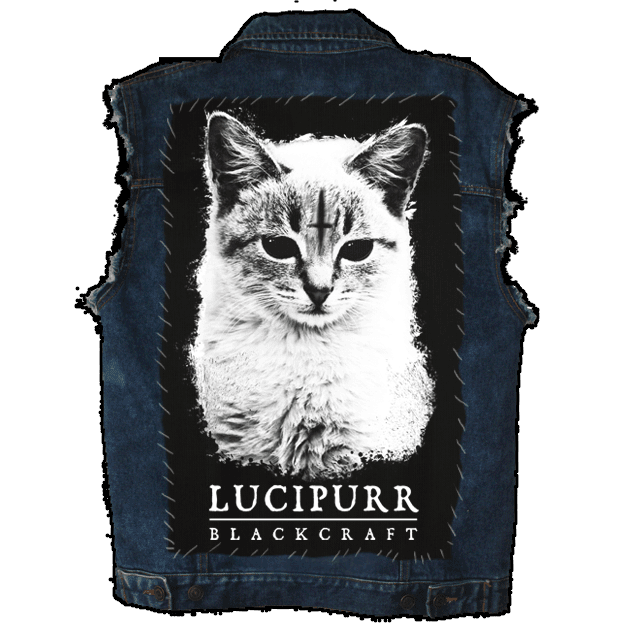 Lucipurr - Back Patch