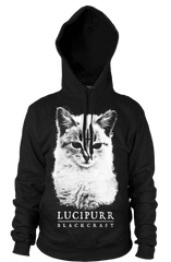 Lucipurr- Hooded Pullover Sweater