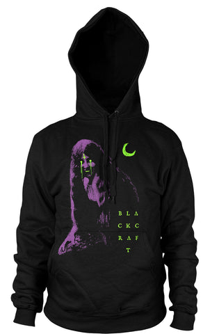 Moon Eyes - Hooded Pullover Sweater