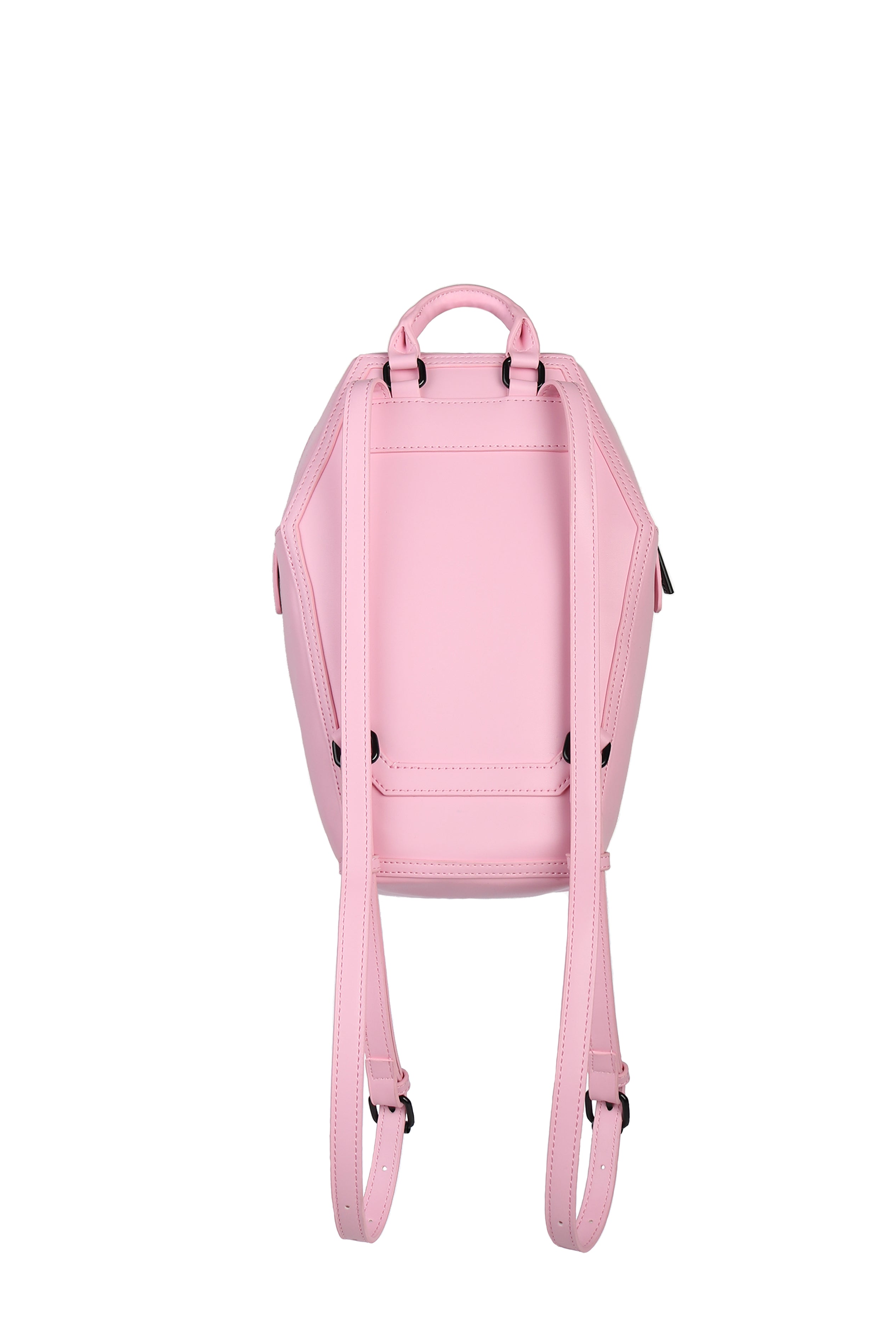Never Trust - Pink Coffin Backpack