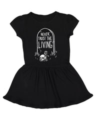 Never Trust The Living - Baby / Toddler Dress