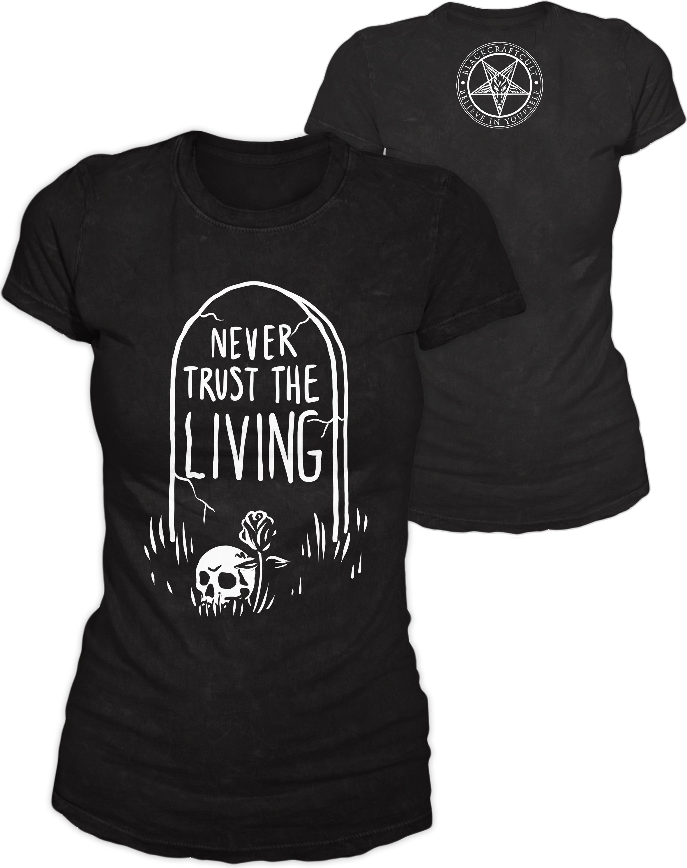 Never Trust The Living - Women's Tee