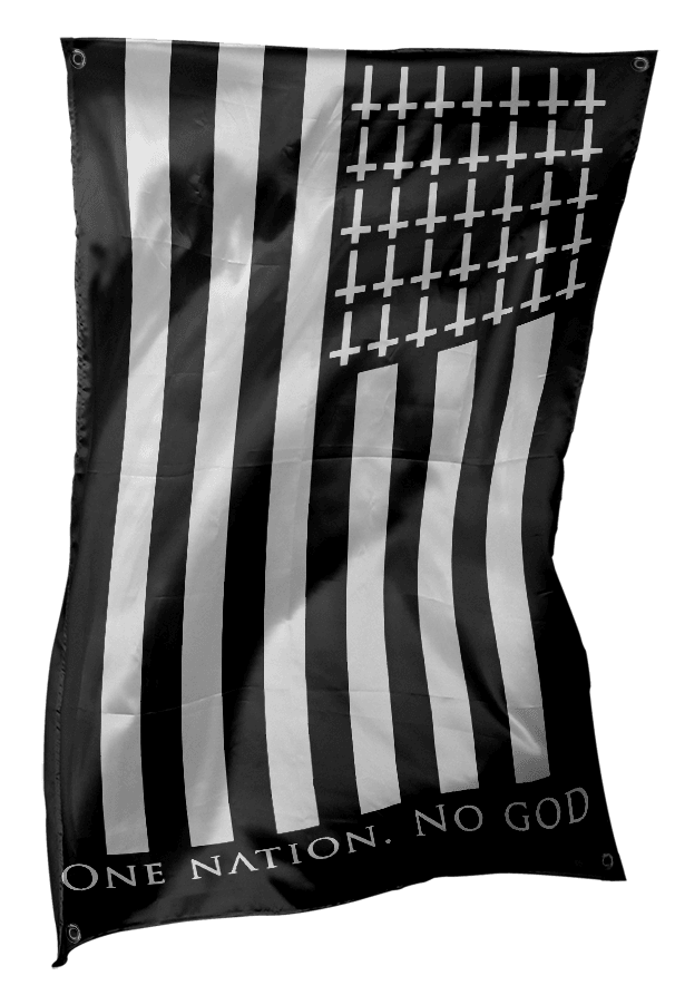 One Nation No God - Flag