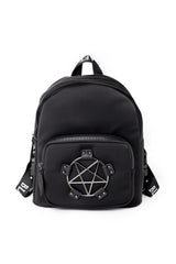 Pentagram - Medium Nylon Backpack