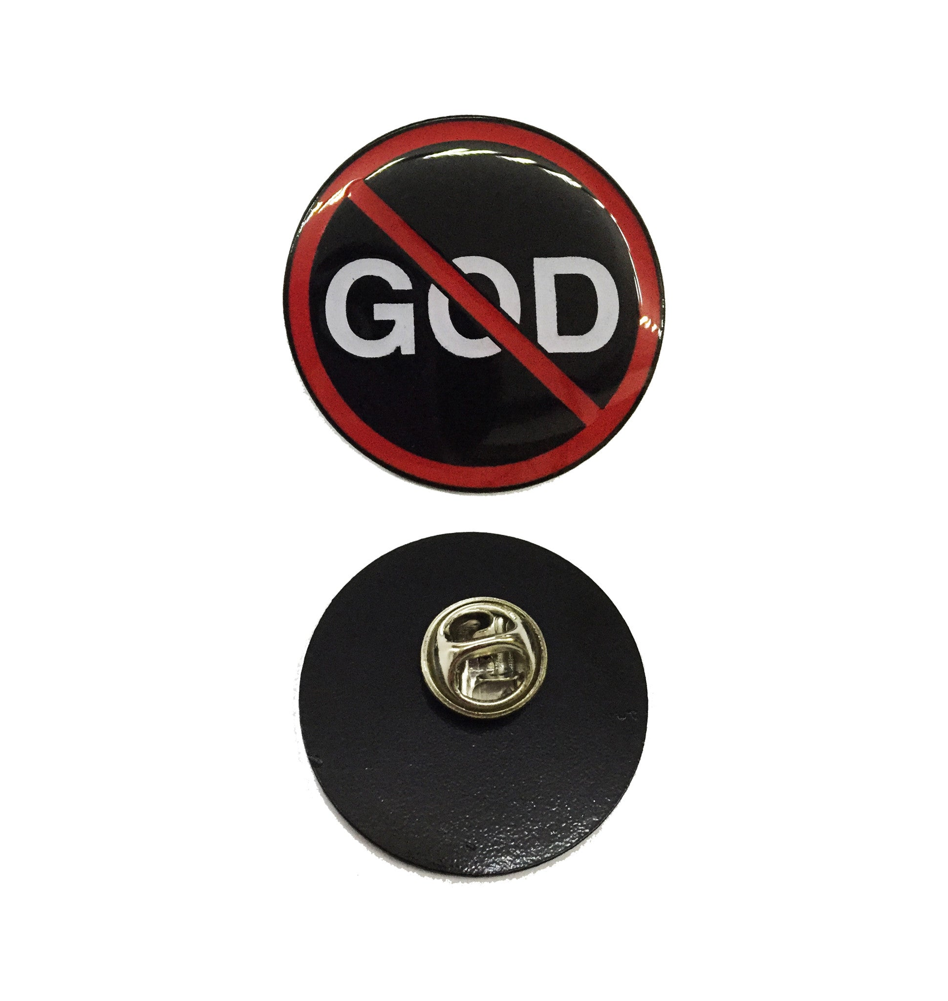 No God - Collectors Pin