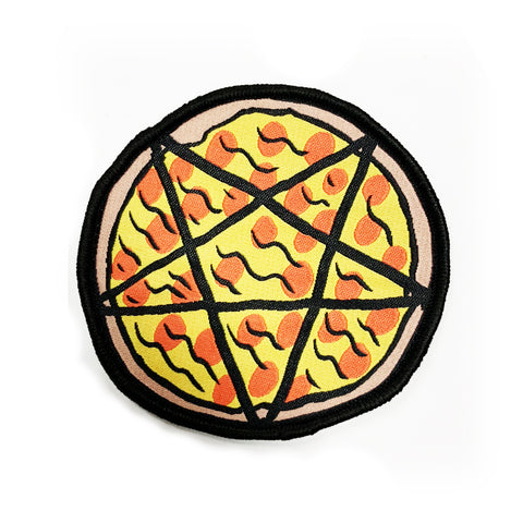 Pizzagram - Woven Patch