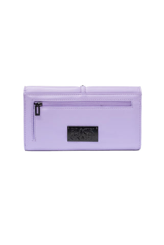 Pentagram Harness - Purple Clutch Wallet