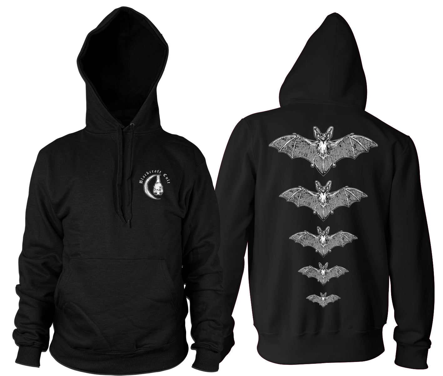 Release The Bats - Hooded Pullover Sweater