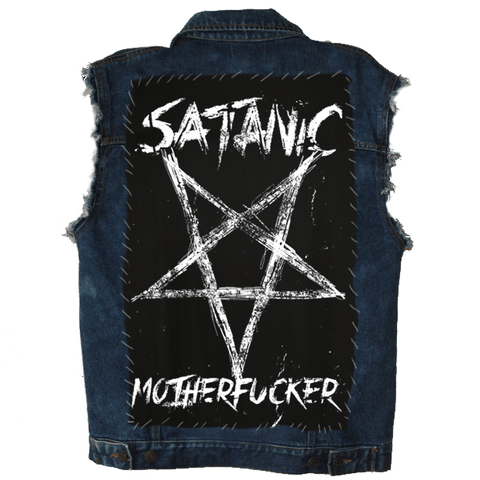 Satanic Motherfucker - Back Patch