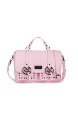 Pentagram -  Pink Messenger Bag
