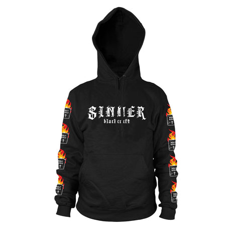 Sinner - Hooded Pullover Sweater