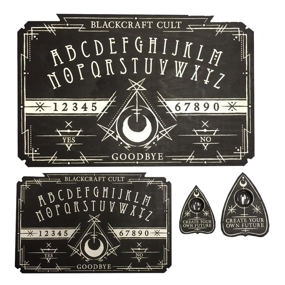 BlackCraft Spirit Board & Planchette