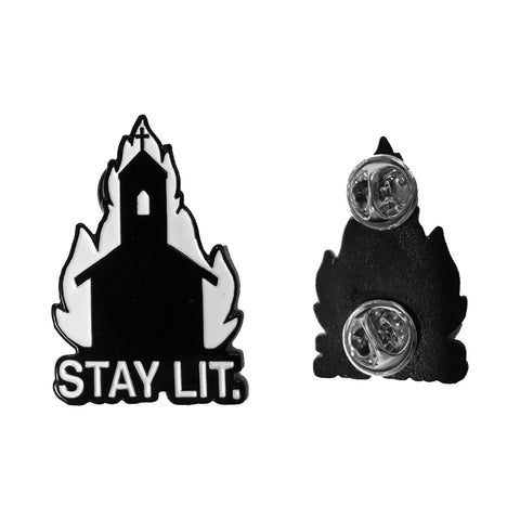 Stay Lit - Collectors Pin