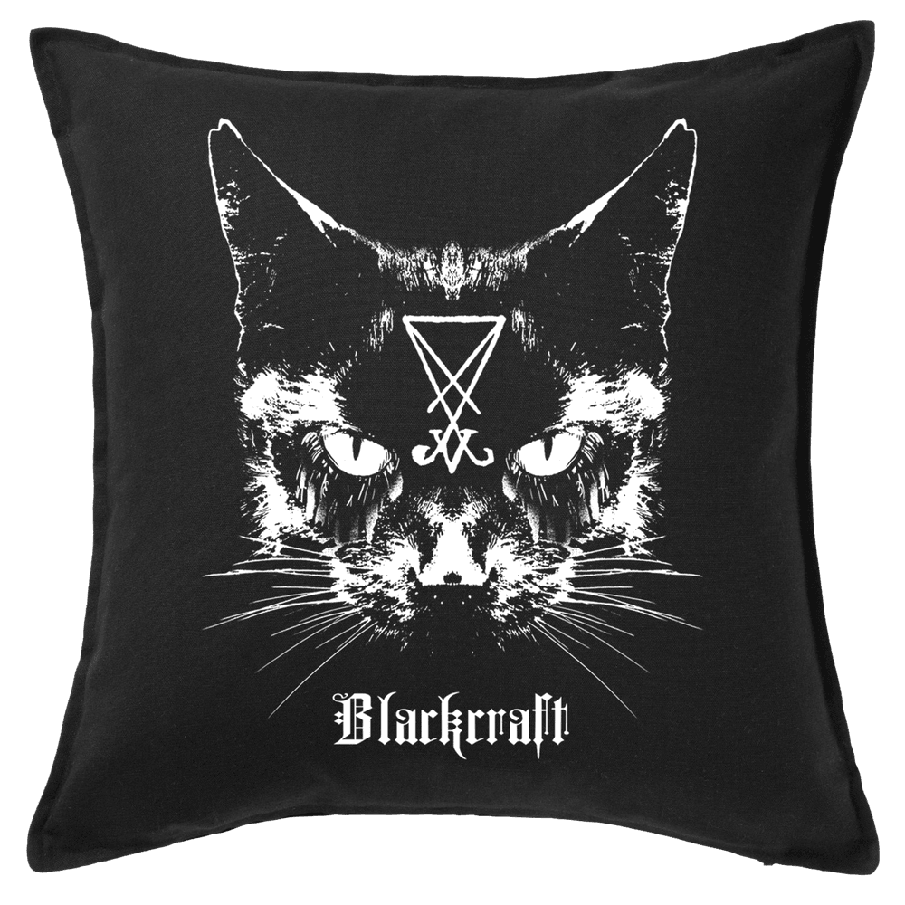 Lucifer The Cat - Throw Pillow