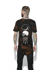 Spirits Of The Dead Bleach Wash- Unisex Tall Tee