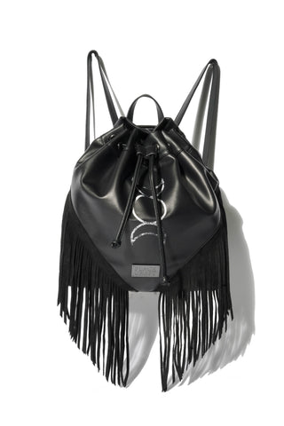 Triple Moon Fringe Backpack