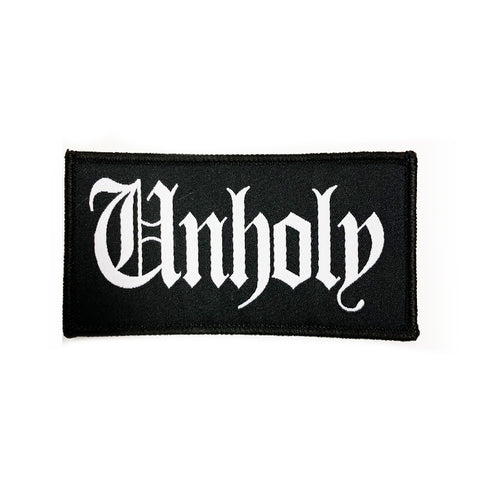 Unholy - Woven Patch