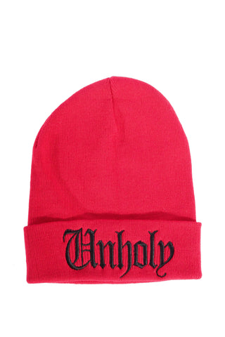 Unholy - Beanie Red