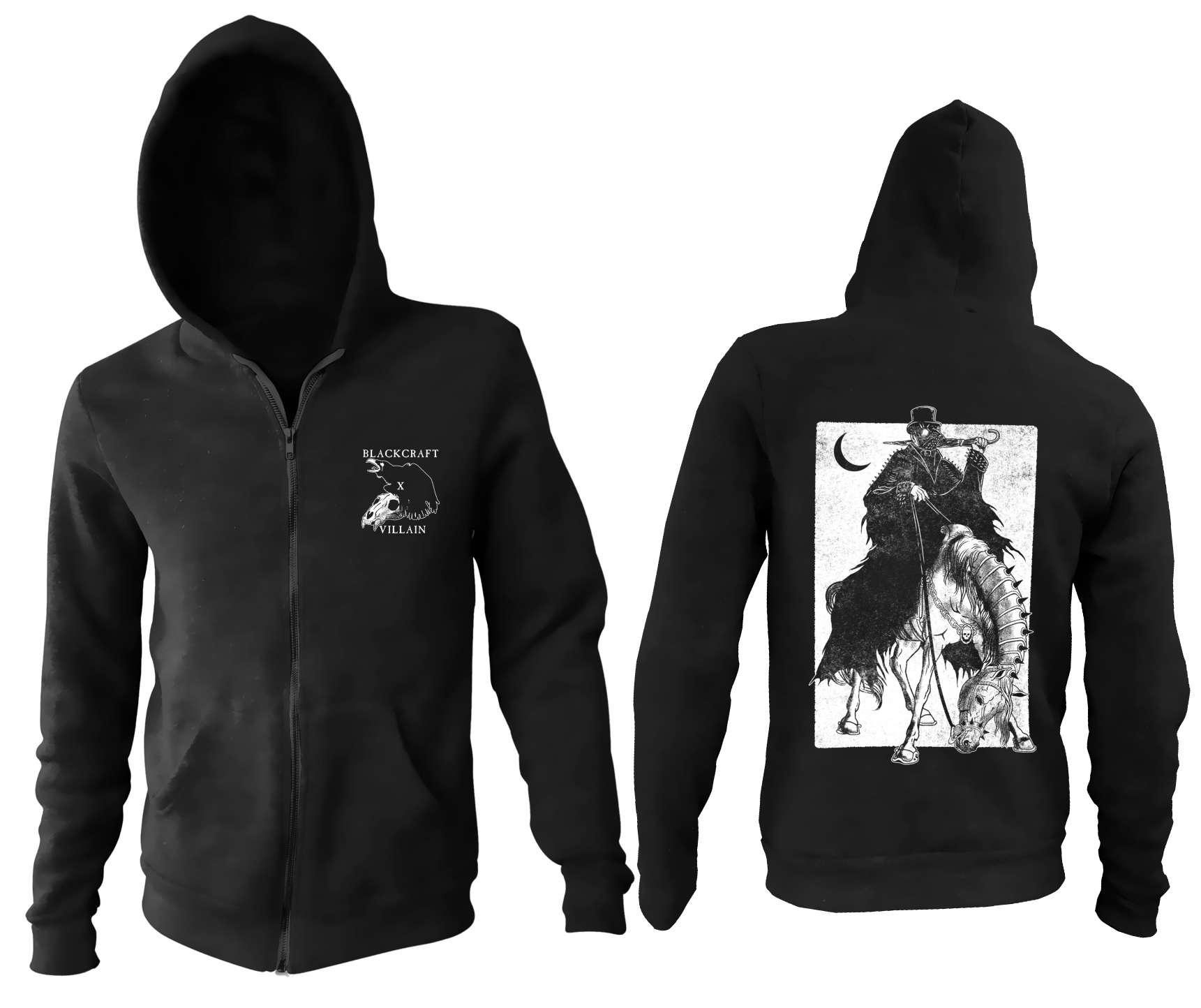 Villain Horseman Zip Up