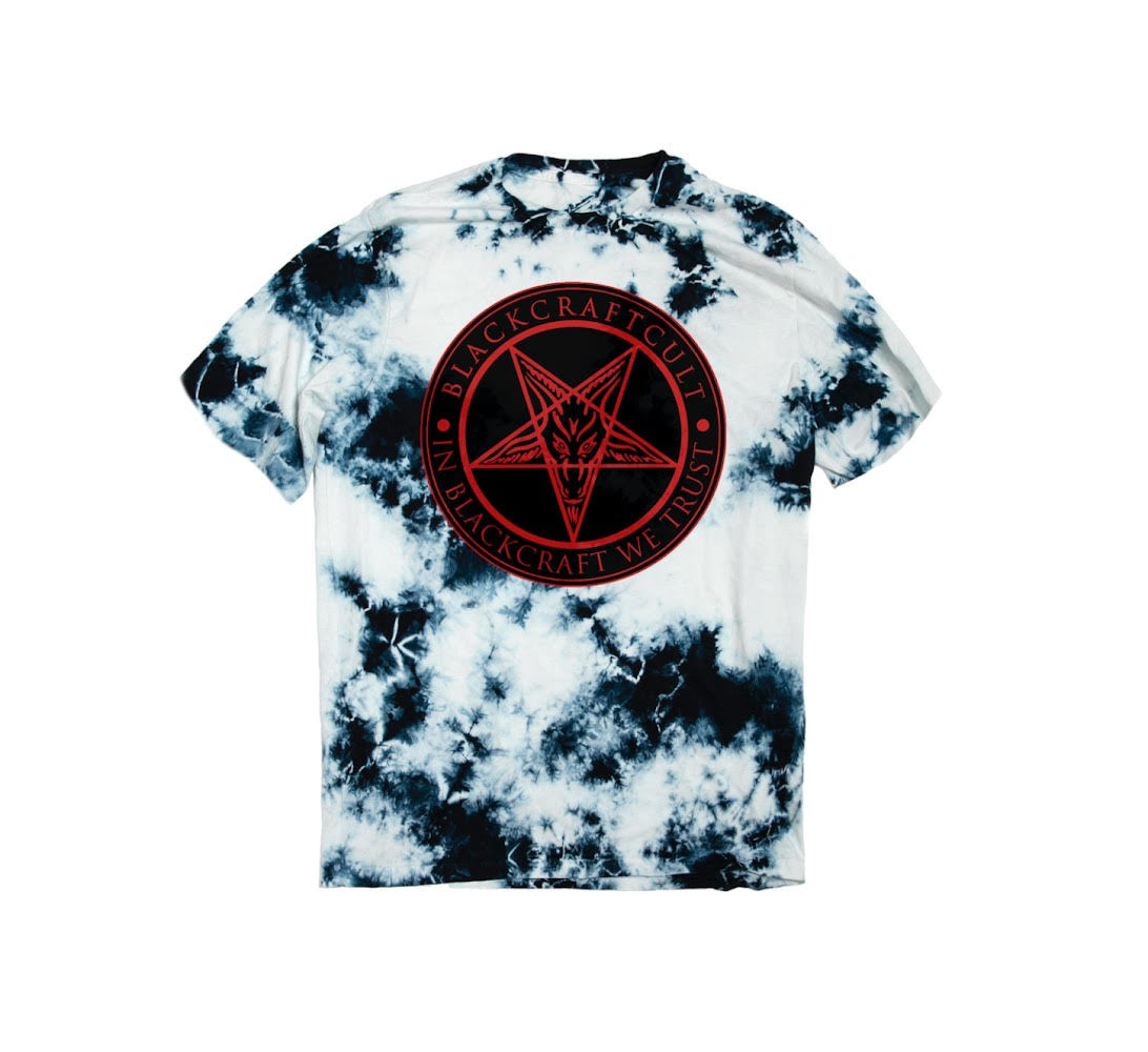 In Blackcraft We Trust - Blue Lunar Dye Tee