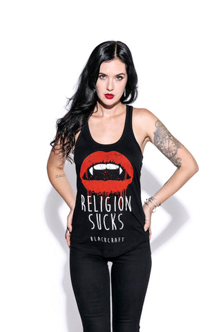 Religion Sucks - Racerback Tank
